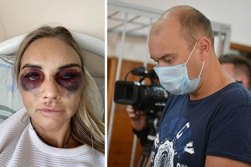 """По словам адвоката, его подзащитный не избивал красавицу-жену. Фото: Алексей Булатов """"КП"""", предоставлено Александрой Полыновой"""