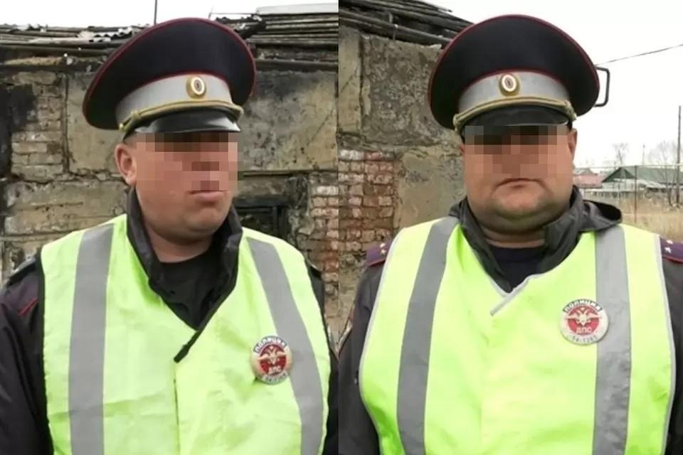Мужчин уволили из органов. Фото: стоп-кадр из видео