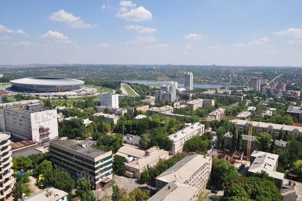 В Донецке будет жарко и солнечно