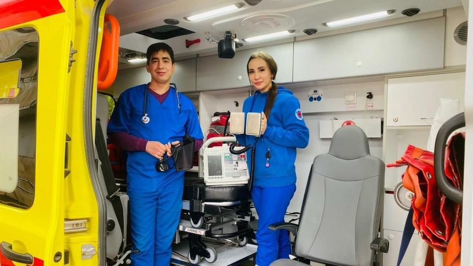 Сейчас пациентку доставили в кардио-реанимацию лечебного учреждения. Фото: Пресс-служба Минздрава республики