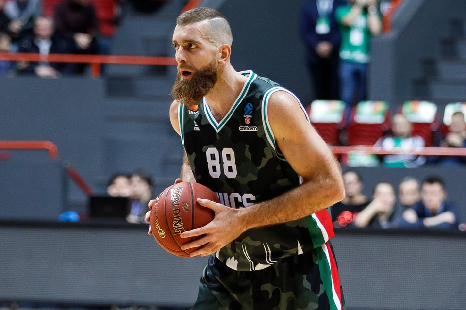 За свою карьеру баскетболист из Греции выступал также за «Нир Ист», «Марусси» и «Панатинаикос». Фото: Пресс-служба УНИКСа