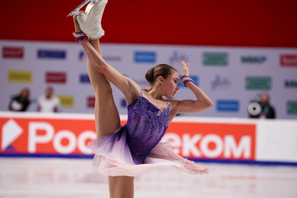Звезды российского фигурного катания показали свои предолимпийские программы