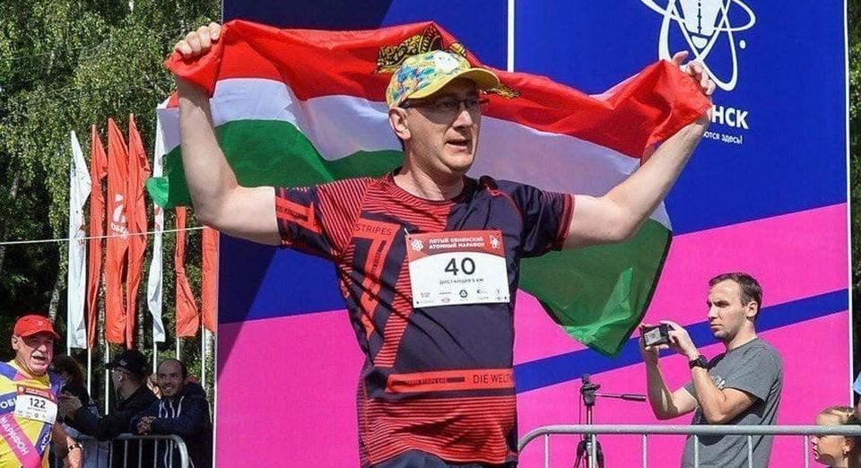 Шапша также участвует в марафонах.