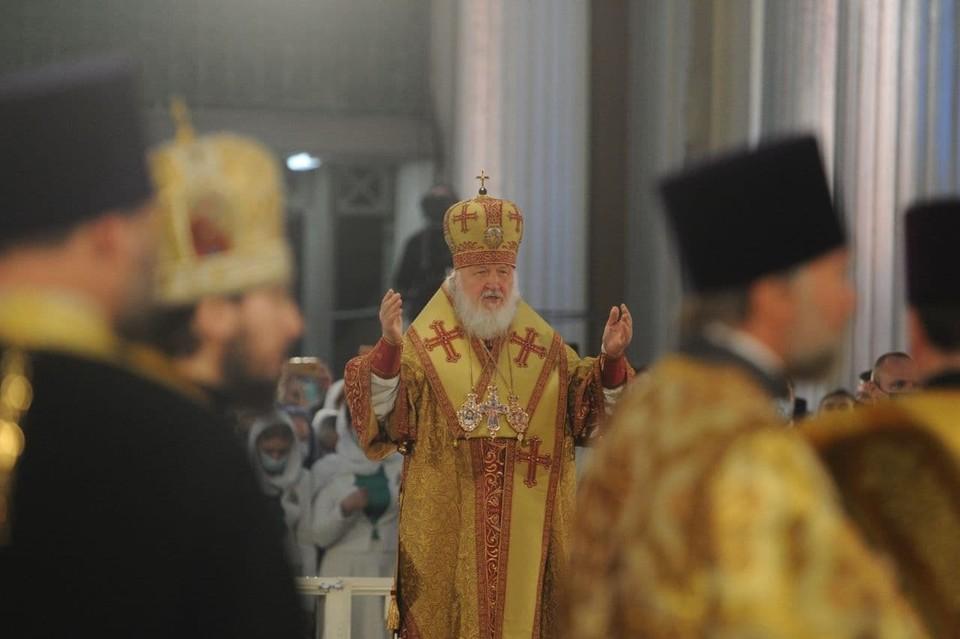 Торжества в честь 800-летия Александра Невского возглавил Патриарх Кирилл.
