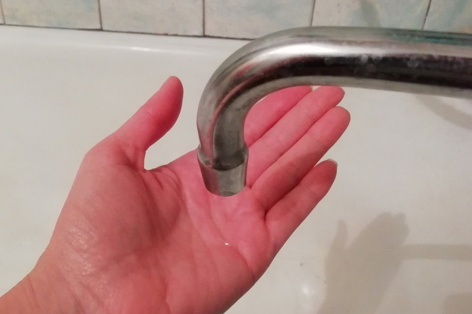 Воду отключат в 9.00