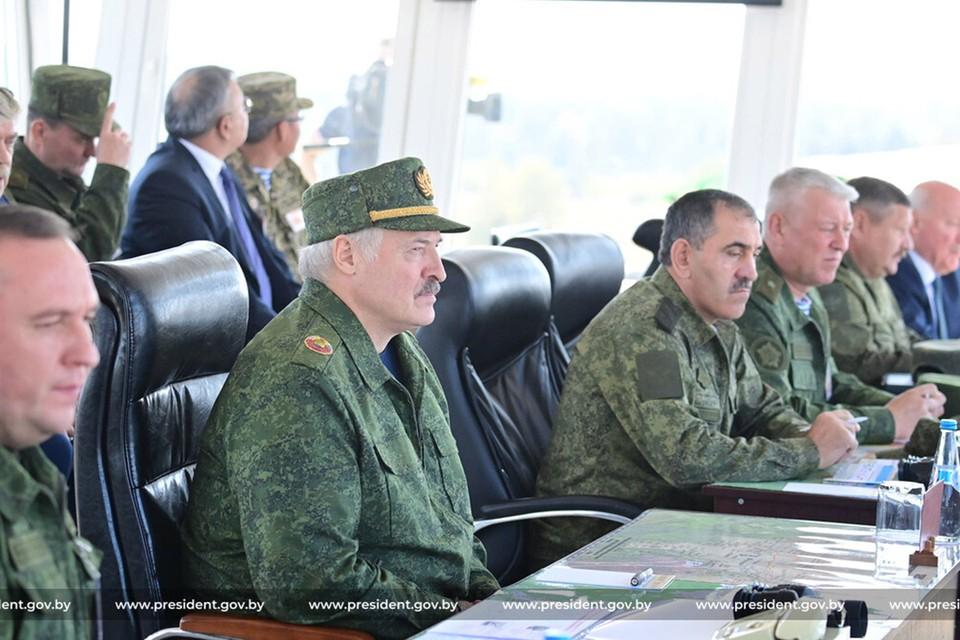Лукашенко прокомментировал отсутствие наблюдателей из США и ЕС на учении «Запад-2021». Фото: president.gov.by