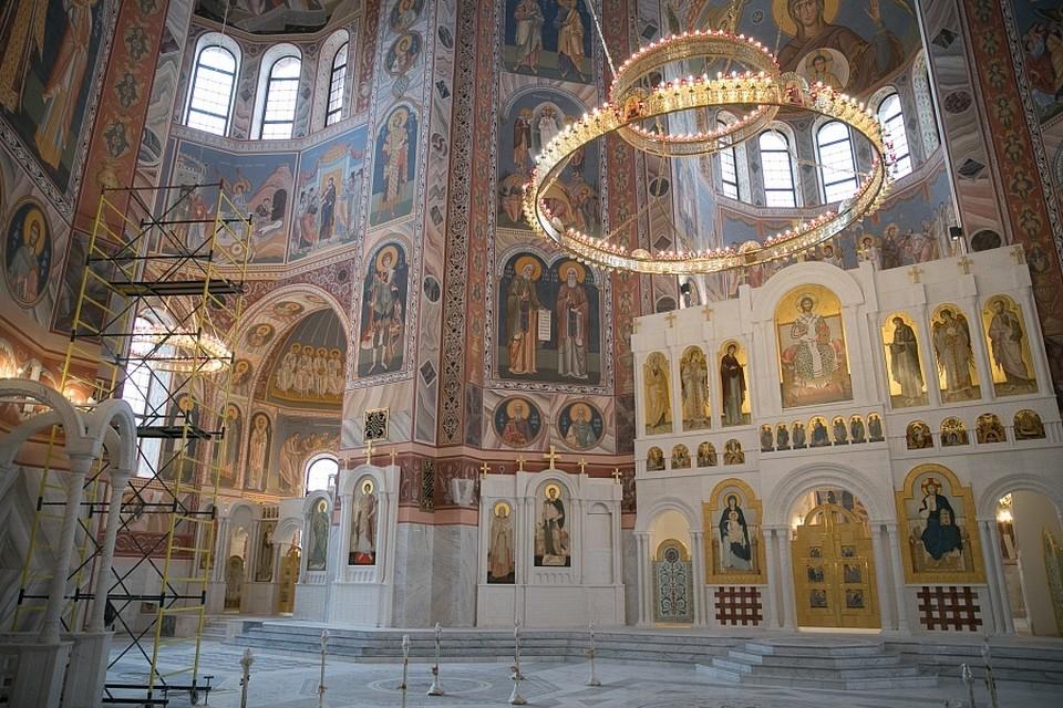 Собор внутри великолепен. Фото: АВО