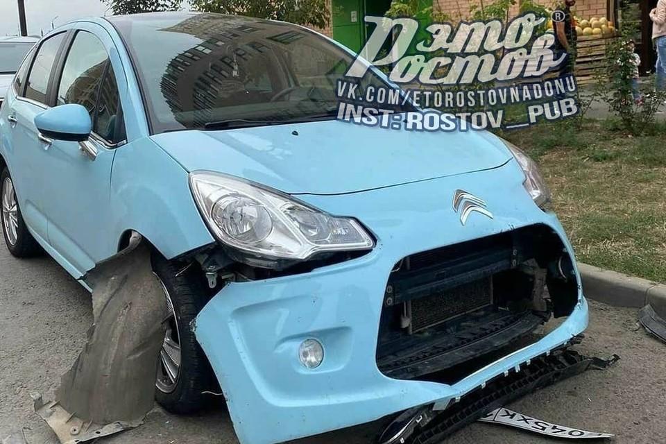 Машине потребуется серьезный ремонт. Фото: vk.com/etorostovnadonu.