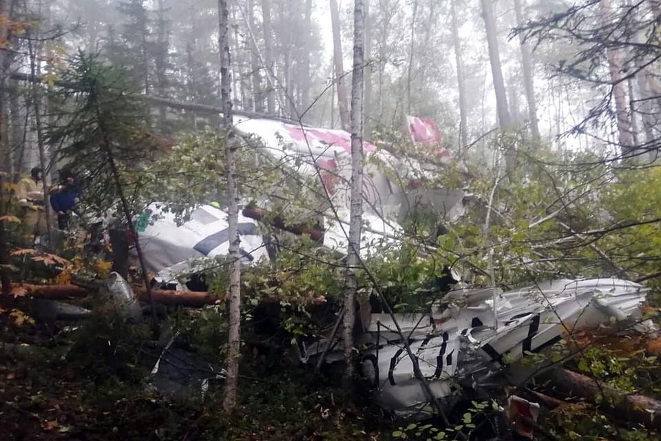 Что известно о причинах авиакатастрофы L-410 в Иркутской области 12 сентября. Фото: Восточно-Сибирская транспортная прокуратура.