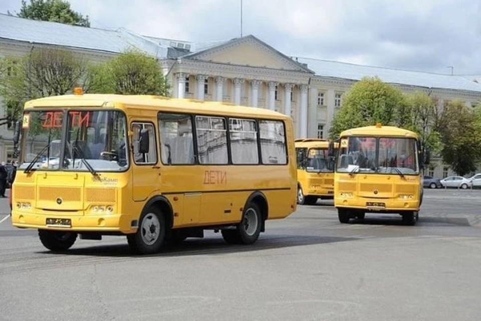 В Ярославскую область поступят 53 новых школьных автобуса