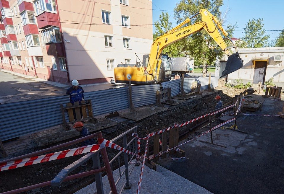 Сейчас в Южно-Сахалинске идёт устранение повреждений на тепловых сетях, возникших после проведения гидравлических испытаний