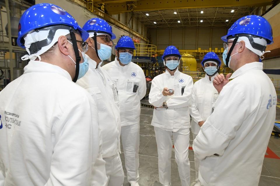Сотрудничество двух атомных станций обусловлено не только одним типом эксплуатируемых реакторов - ВВЭР-440. Фото: Управление информации и общественных связей Кольской АЭС