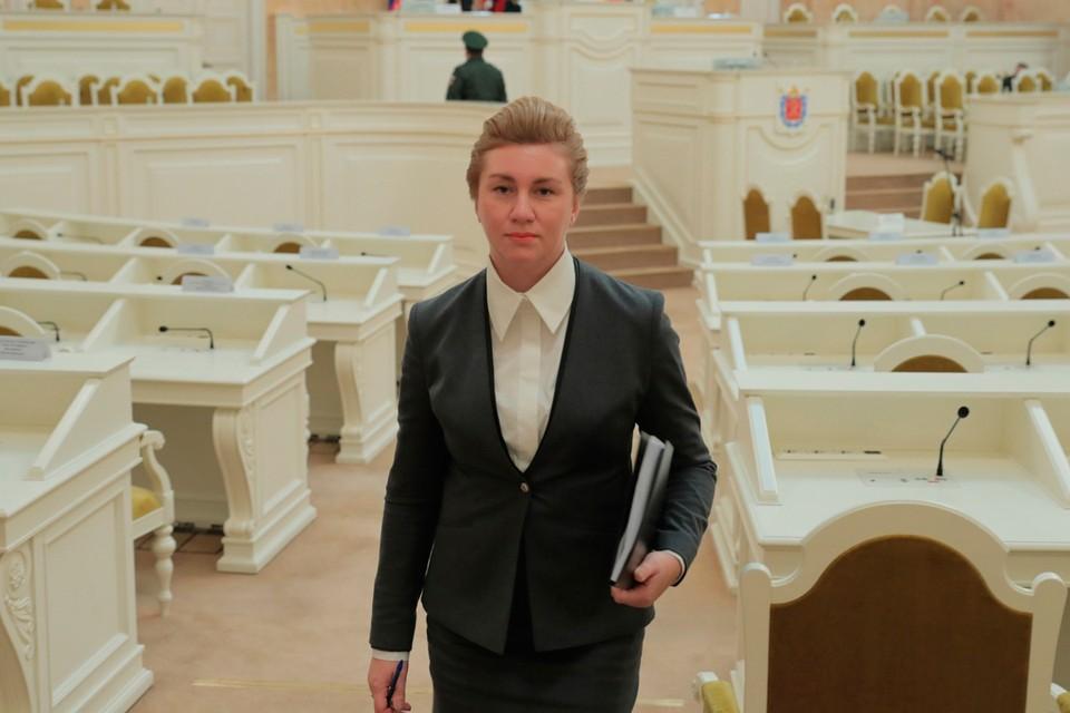 Пресс-секретарь Вячеслава Макарова Елена Гаврищук.