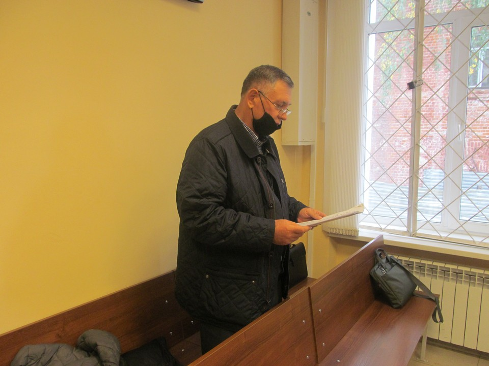 Сергей Бабурин выступает в суде