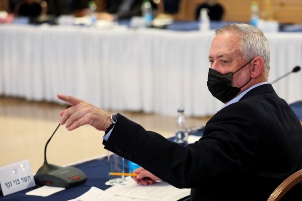 Министр обороны Израиля Бени Ганц