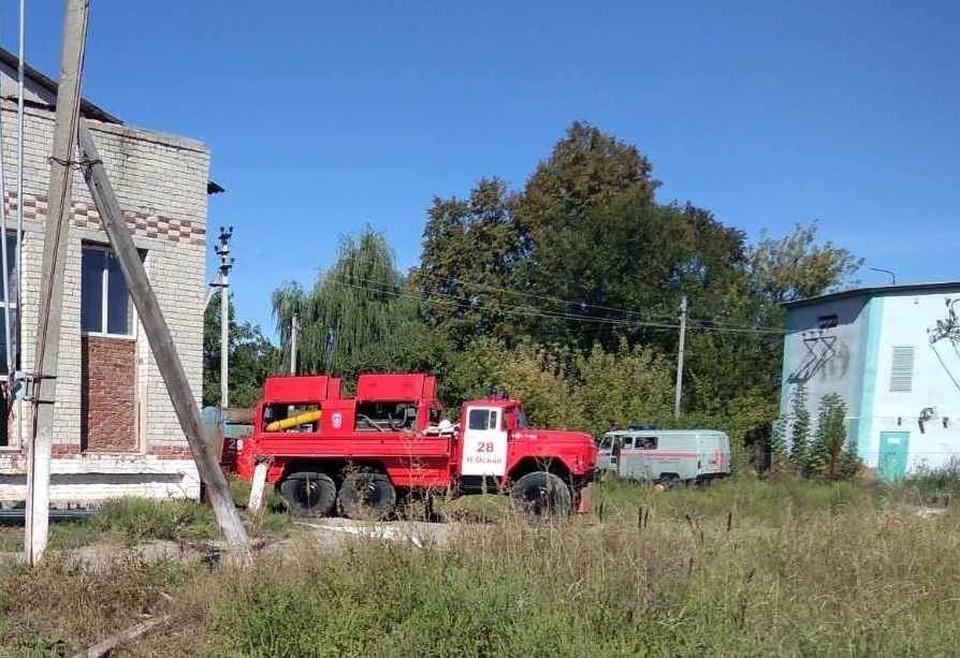 На период проведения аварийно-восстановительных работ в городе организовали точки раздачи технической и питьевой воды. фото: ГУ МЧС России по Белгородской области.