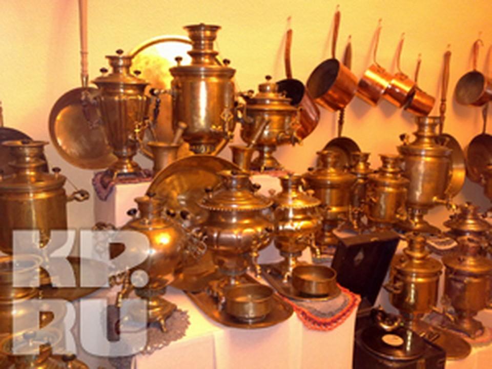 В музее «Музыка и время» открылась выставка чайных машин.