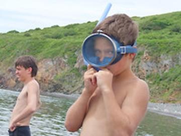 Приморская ребятня летом займется дайвингом и поиском кладов