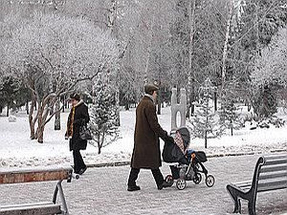 Сегодня днем в Новосибирске -23, а ночью будет -27, -29