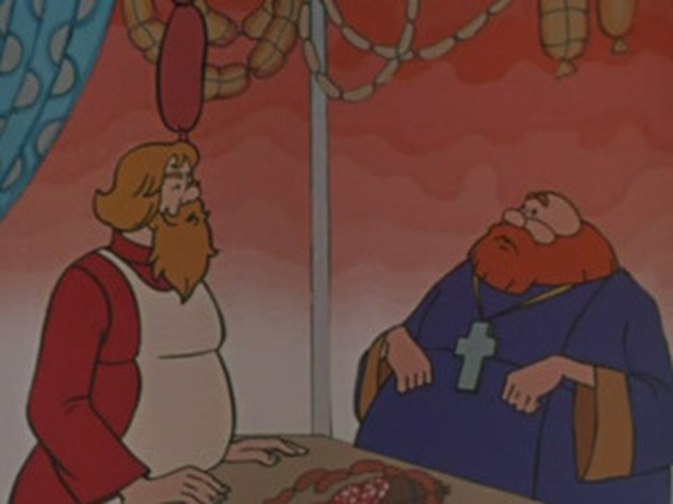 Священникам больше нравится сказка не о попе, а о купце