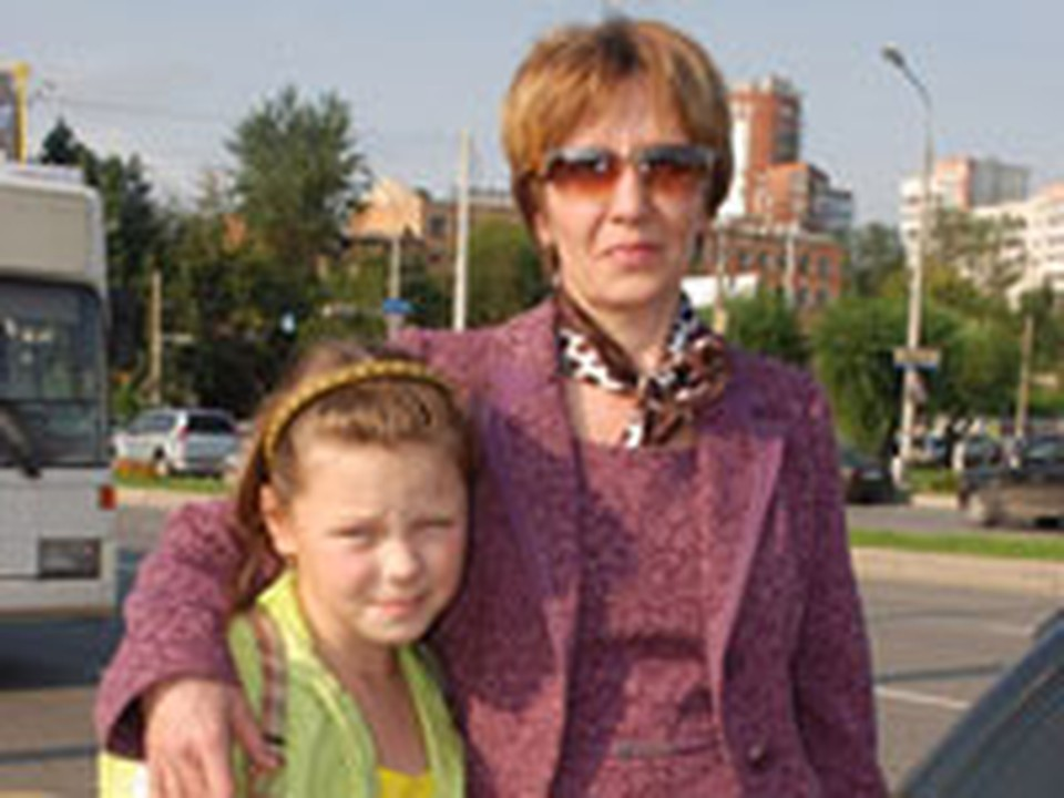 Людмила Адушкина с дочкой вернулась из Москвы в Пермь