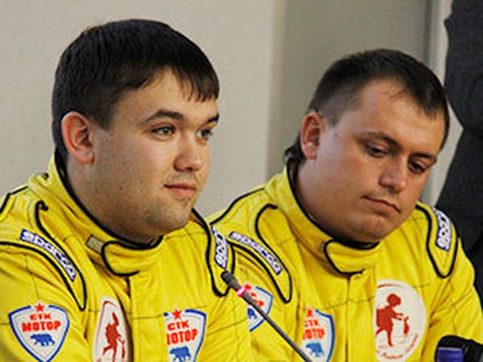 Алексей Петров (слева) и Андрей Верещагин на ралли «Голубые Озера-2011» стали лидерами.