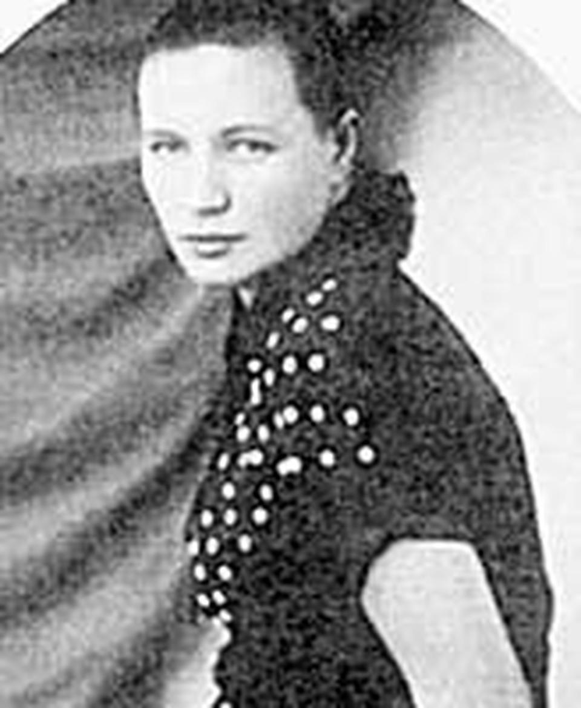 Первая супруга Ольга Павловна.