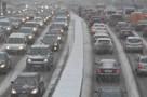 Московские пробки растянулись до Новосибирска и Мадрида