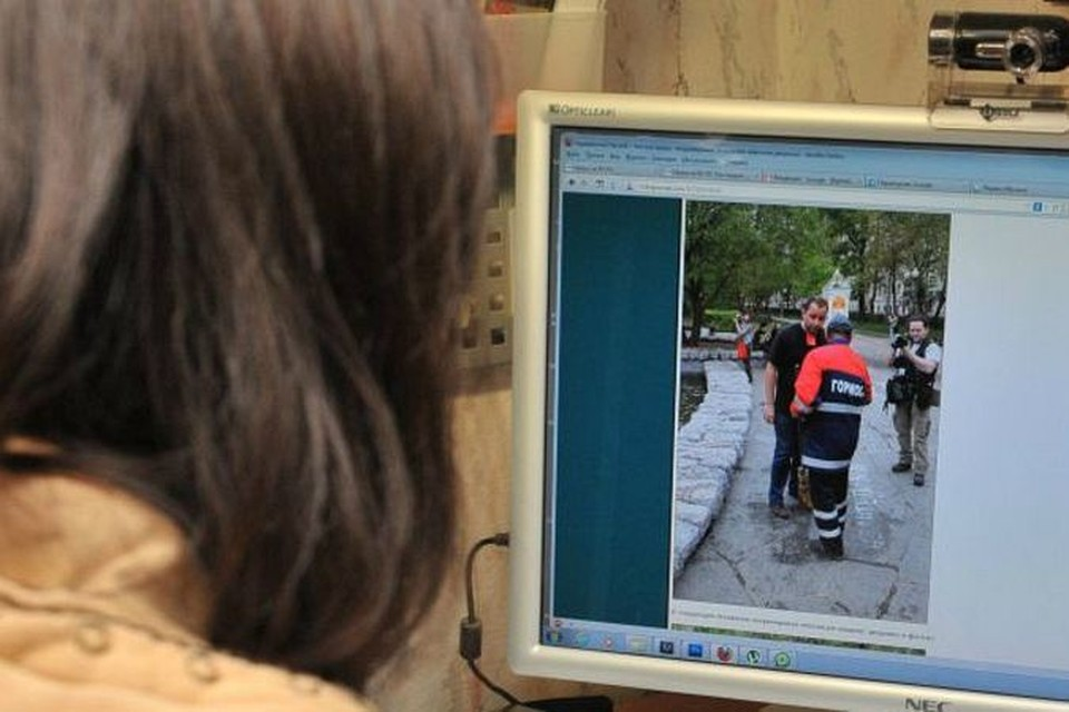 Инцидент заснял блогер под ником Норвежский лесной.