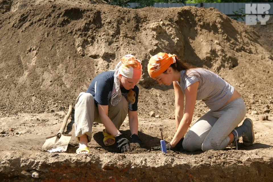 Раскопки - работа для внимательных и трудолюбивых
