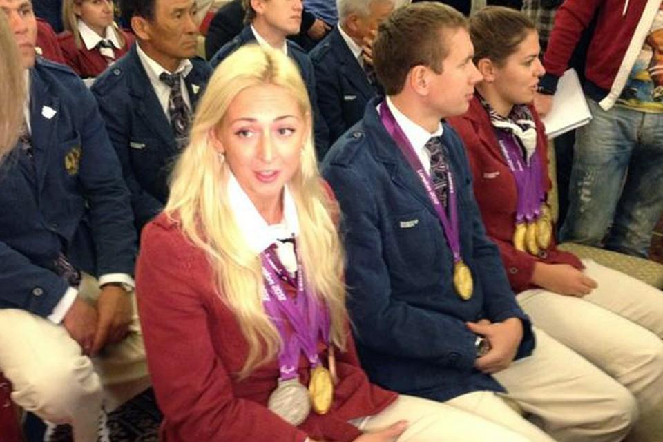 В Кремле наградили паралимпийцев