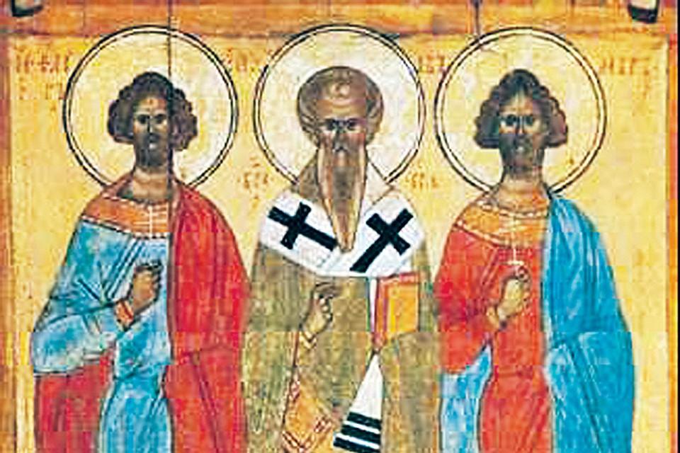 Ореол над святыми