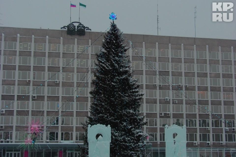 В Новый год на Стефановской сыктывкарцев поздравит Президент