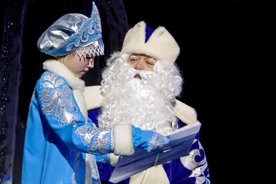 Лучший Дед Мороз России живет в Смоленской области.