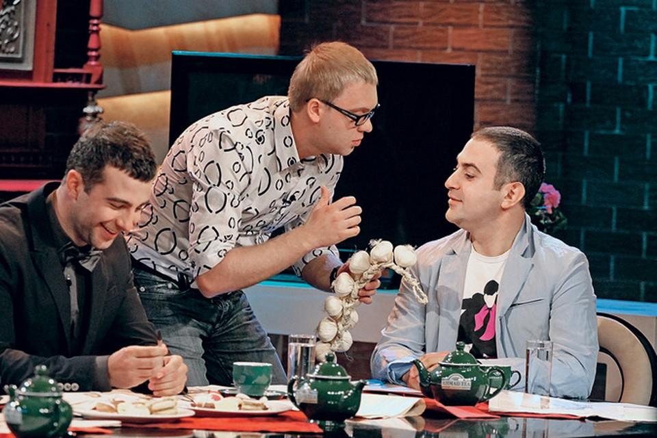 Ургант, Светлаков и Мартиросян вместе уже не шутят, зато у всех свои крутые проекты.