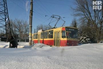 Весь общественный транспорт Твери