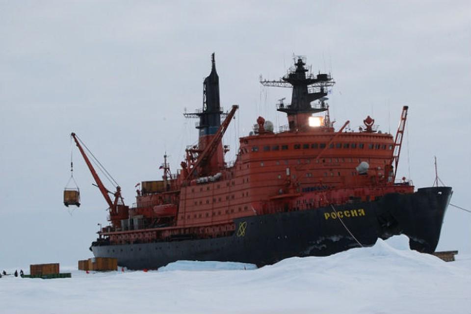 """""""Россия"""" поспешит на помощь балтийским морякам"""