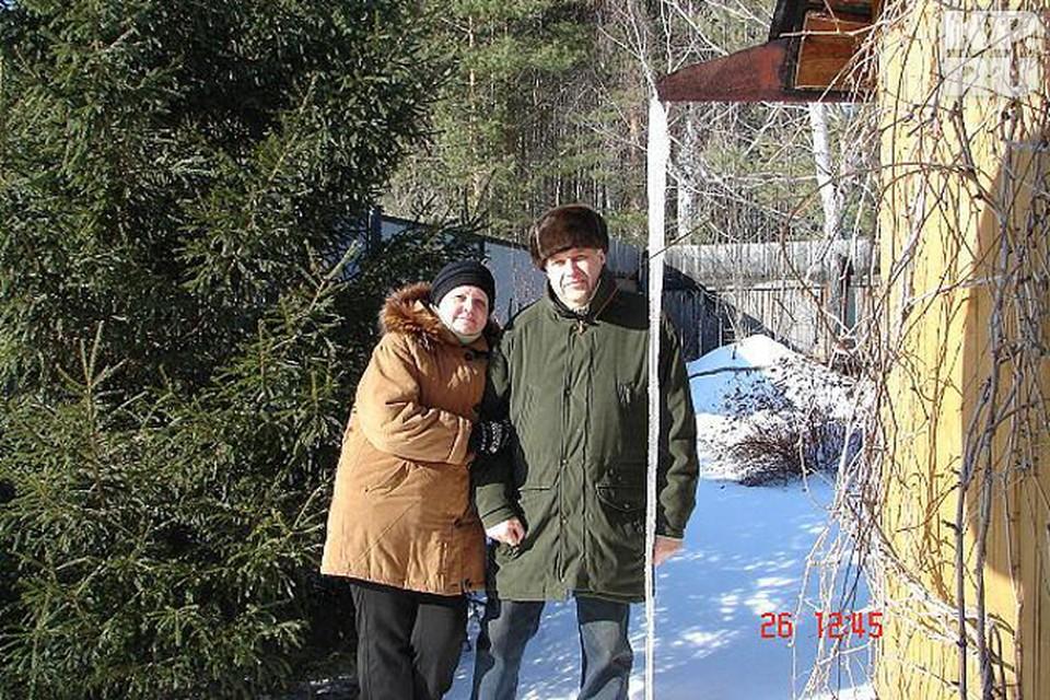 Леонид Александрович с женой Верой Юрьевной