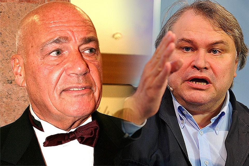 Известные журналисты Познер и Мамонтов устроили заочную перебранку