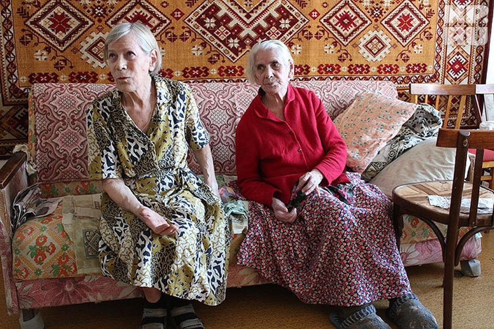Тетя Елизавета Тихонова живет с больной 85-летней матерью Осиповой.