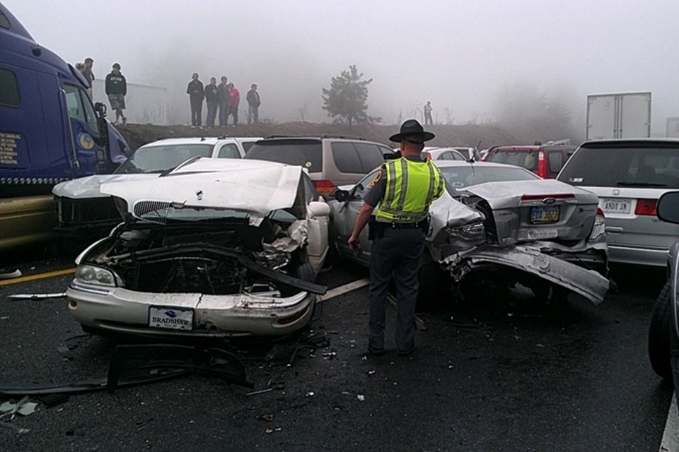 Причиной ДТП стало несоблюдение водителями скоростного режима