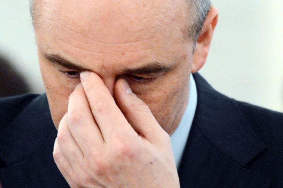 Размер ставок запредельный, - возмутился министр финансов