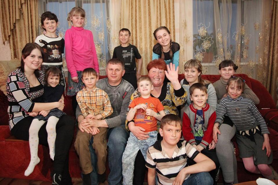 Большое семейство Кузьменко
