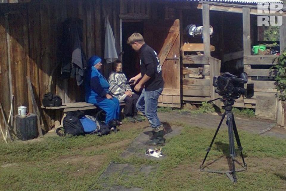 Бригада из НТВ снимала колдунов и шаманов в Удмуртии.