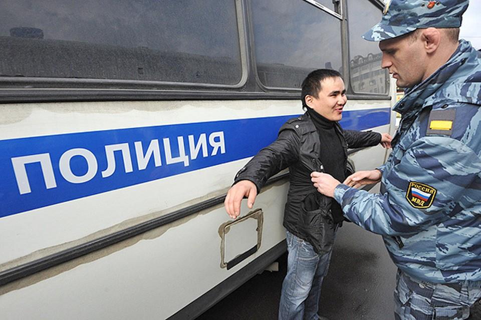 За два операции по борьбе с криминалом в Москве задержали более тысячи человек