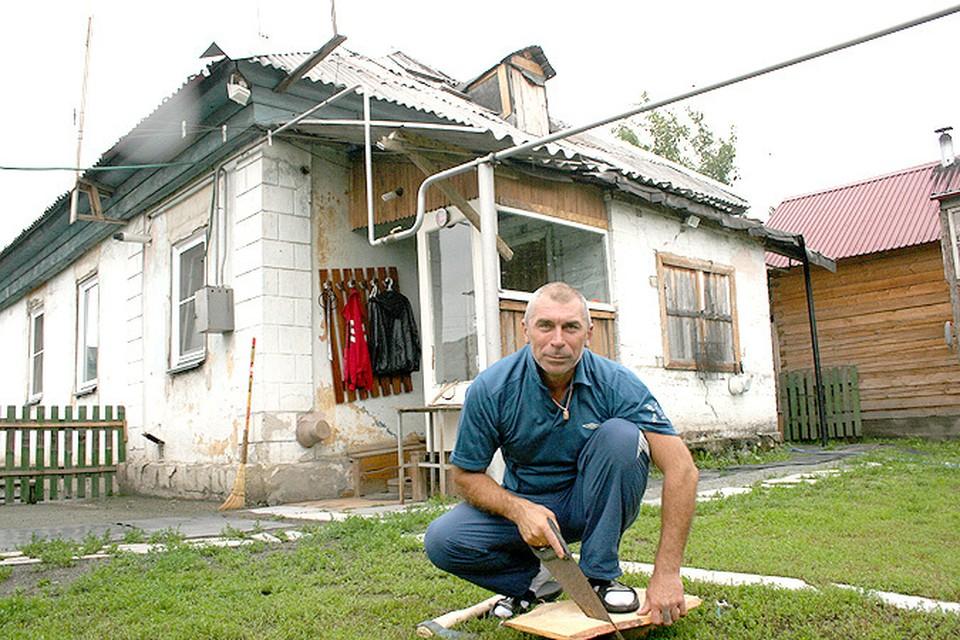 Анатолий вложил в бывшую развалюшку все свои деньги и силы и душу.