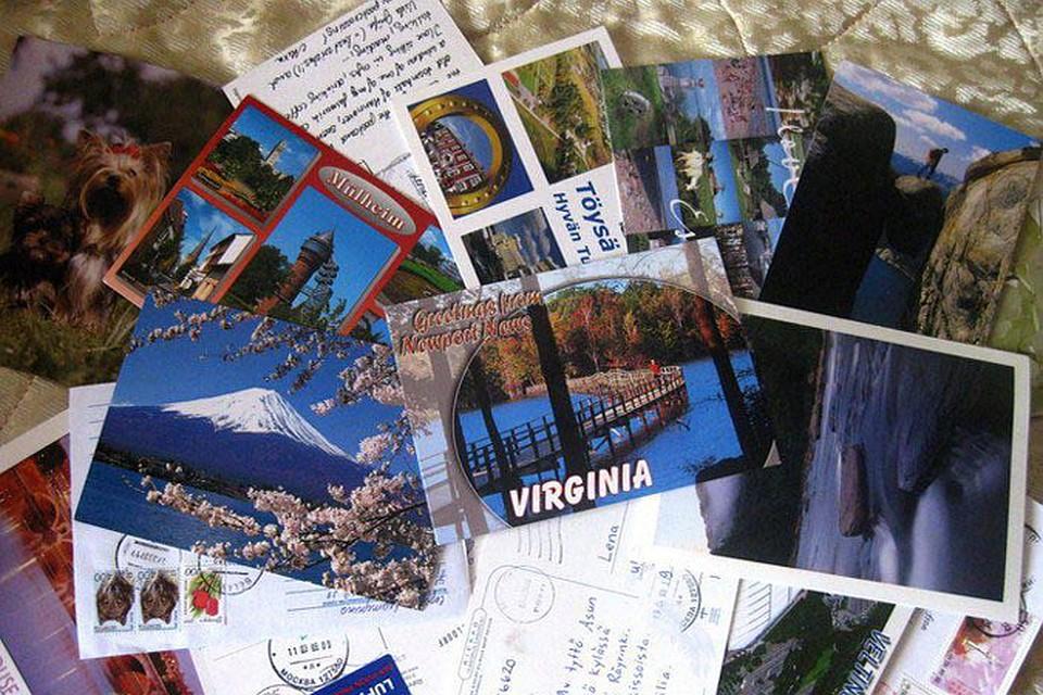 Отправлять открытки из разных странах