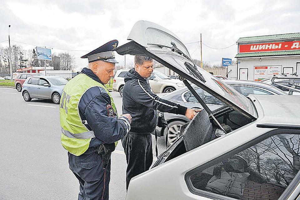 Обыск автомобиля сотрудником дпс вернее