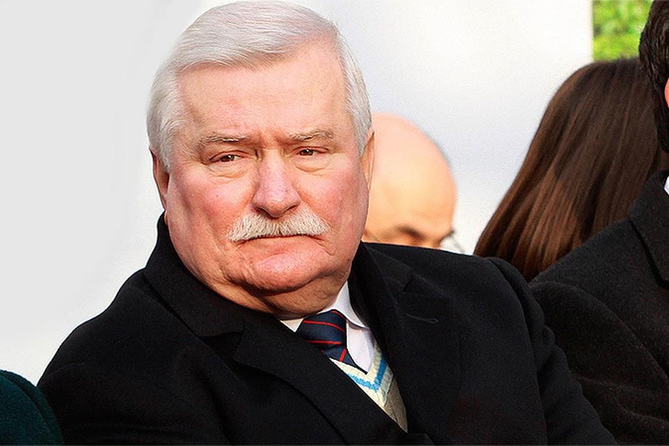 Экс-президент Польши Валенса