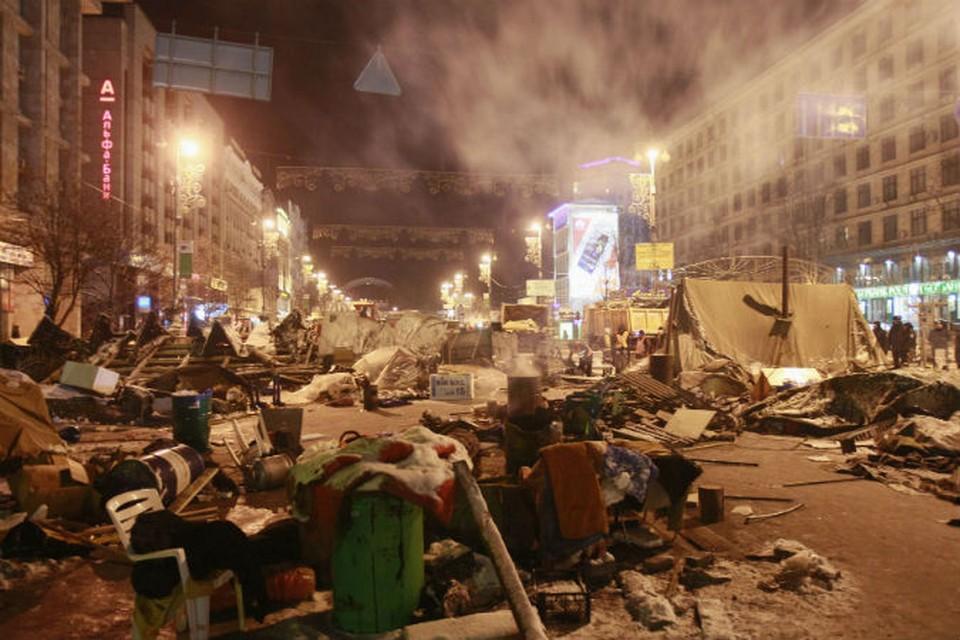 Вот так в ночь на 11 декабря стал выглядеть Киев